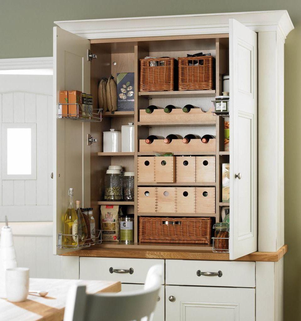 Cool Free Standing Kitchen Pantry Pantry Furniture Kitchen