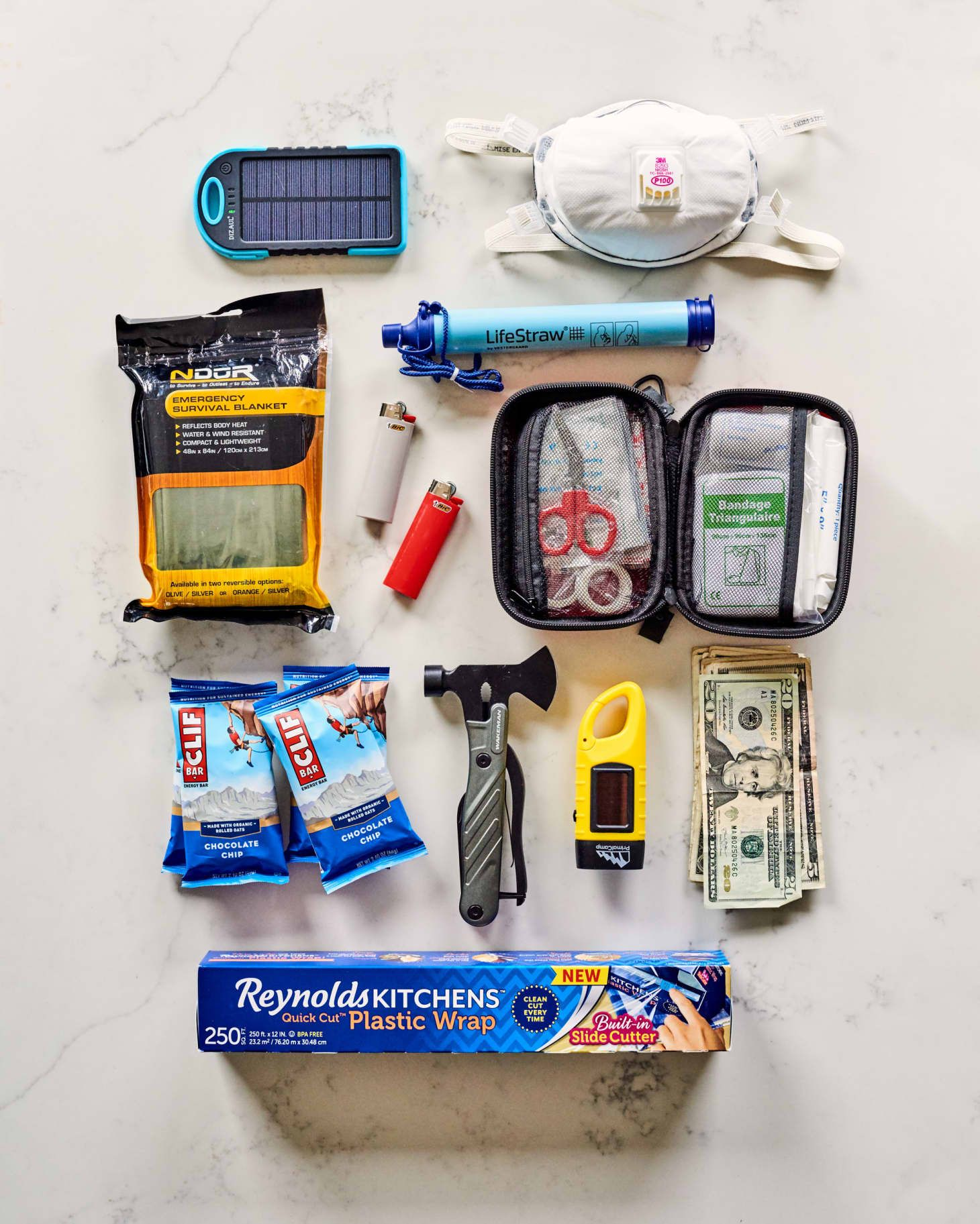 This Small Space Emergency Kit Fits in a Shoebox and Only