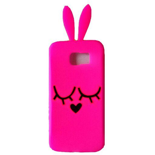 Samsung Galaxy S6 Bunny Rabbit Case - Cartoon Samsung Galaxy S6 Cases - Cases For Galaxy S6 - Galaxy S6 Cases