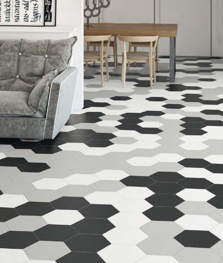 Carrelage Hexagonal Sol Spanish Interior Design Tiles Hexagon