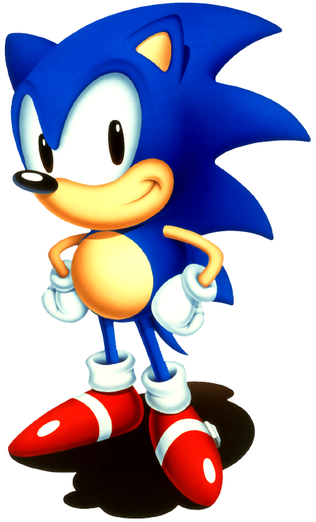 Sonic Art Archive Sonic02 32 Png In 2020 Sonic The Hedgehog Hedgehog Sonic