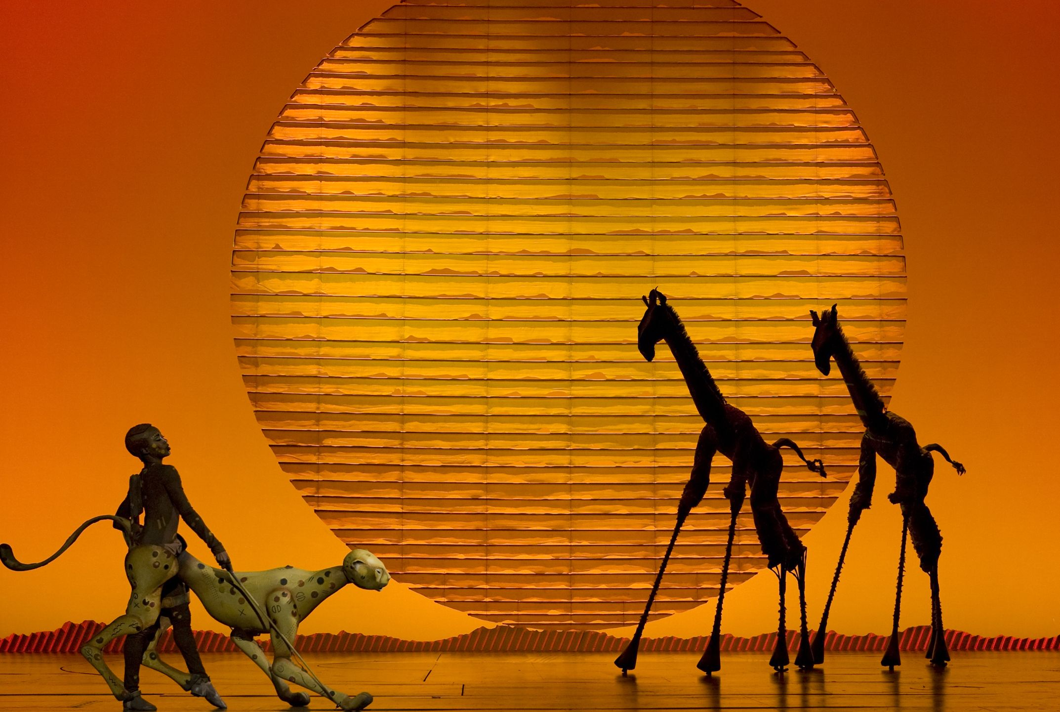 The Lion King, this broadway play was indescribably amazing! no words can describe the beauty, so inspiring