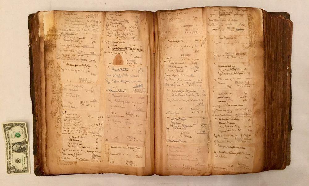 1888 Ideal Prescription Book Tome HUGE Handwritten Diary Of Antique Medicine Old   eBay