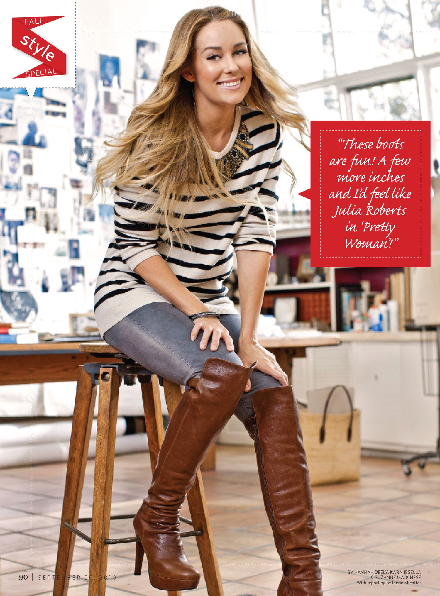 7912b0e2393 Styled these looks o Lauren Conrad for Us Weekly s Style Issue ...