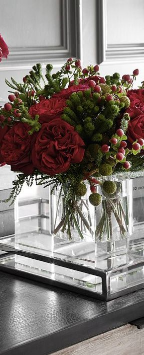 Beautiful Floral Arrangement for Christmas The Rose Shop Utah