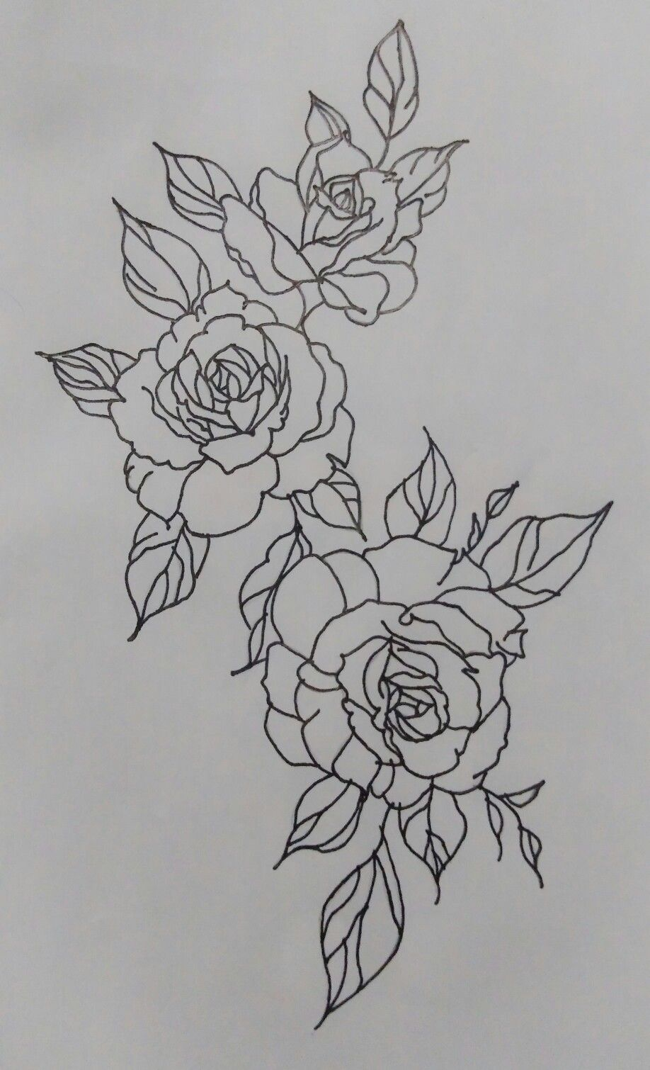 Desenhos Rosas Tattoo Flower Tattoos Inspirational Tattoos Hip