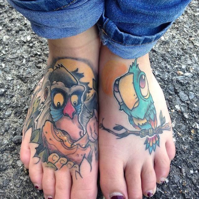 Rafiki lion king tattoo | Lionkingtattoo | Pinterest
