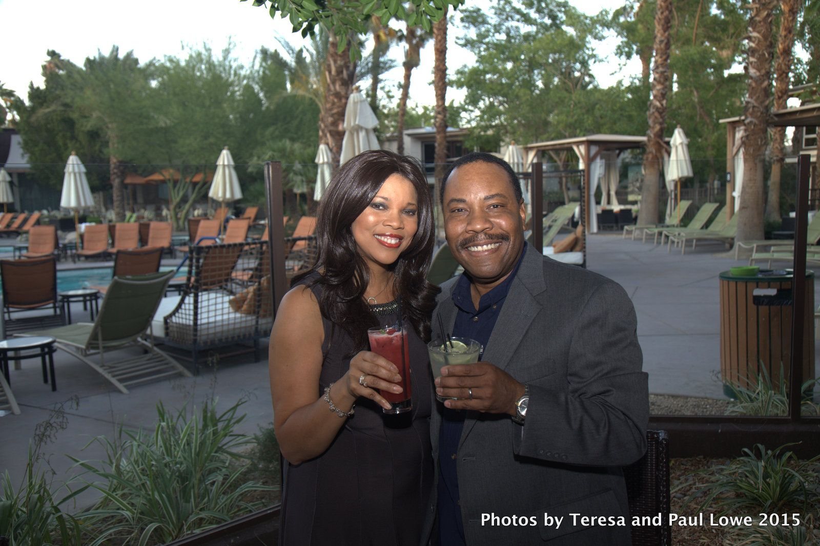 Paul and I enjoyed some of the signature cocktail available from the Sidebar Lounge on our way to a beautiful dining experience at Circa 59, and upscale restaurant located in the beautifully restored 60's inspired Riviera Resort and Spa, located on Palm Springs, CA, just a One Tank ride from Los Angeles, CA.