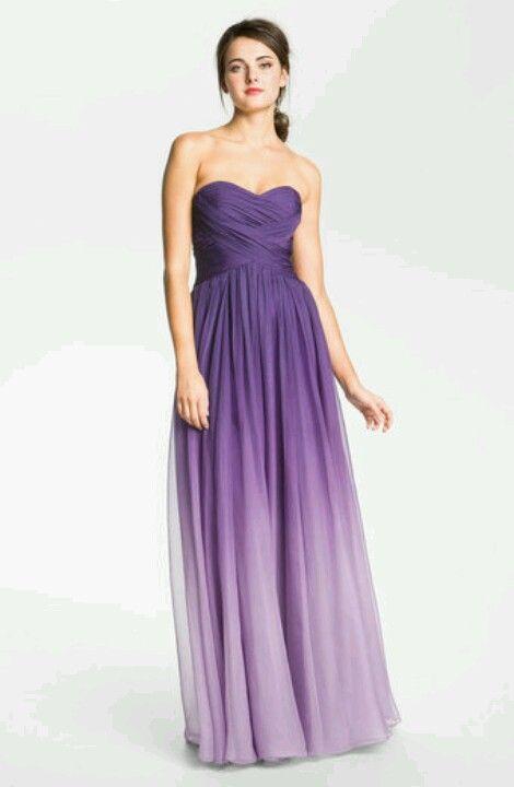 Vestido degradado a dos colores | Recital Dress! | Pinterest | Ombre ...