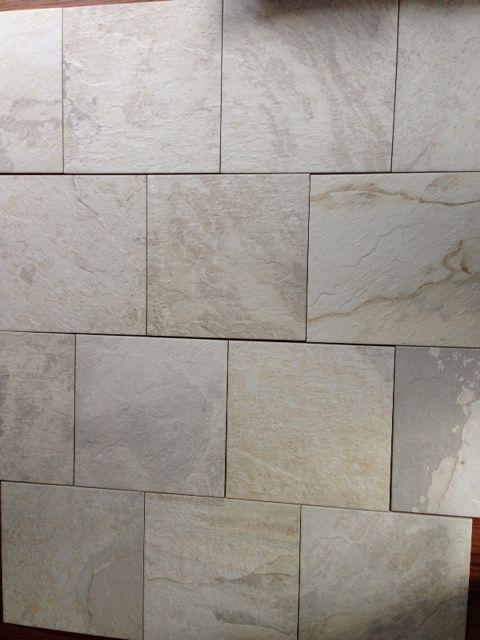 Ivetta White Quot Stone Quot Porcelain Tile Floors Pinterest