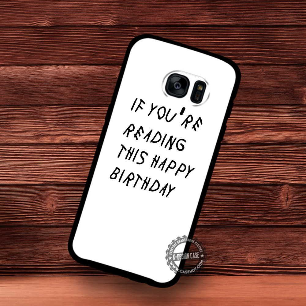 If you happy birthday greeting samsung galaxy s7 s6 s5 note 7 if you happy birthday greeting samsung galaxy s7 s6 s5 note 7 cases covers kristyandbryce Choice Image