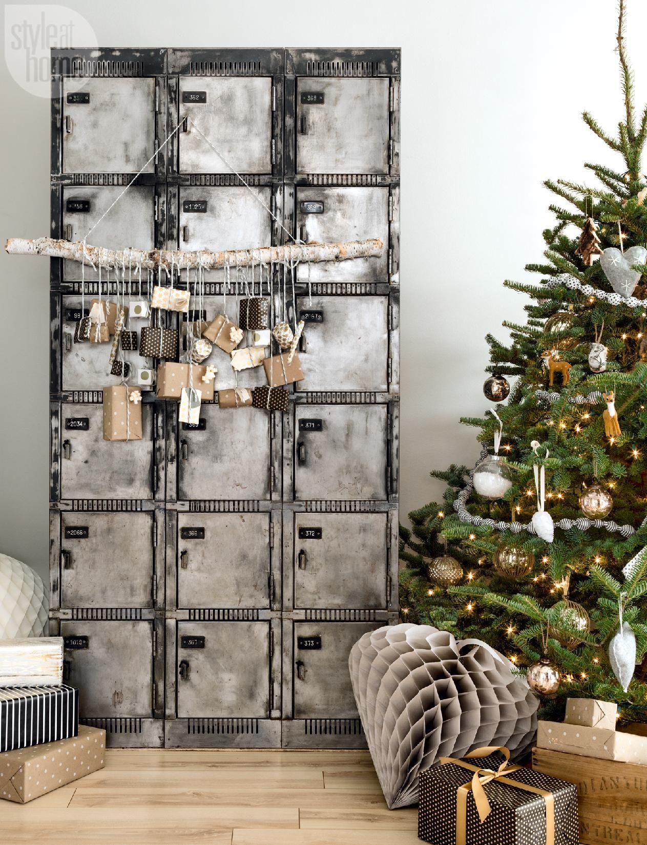 Inspiración: una casa de estilo escandinavo decorada para Navidad ...