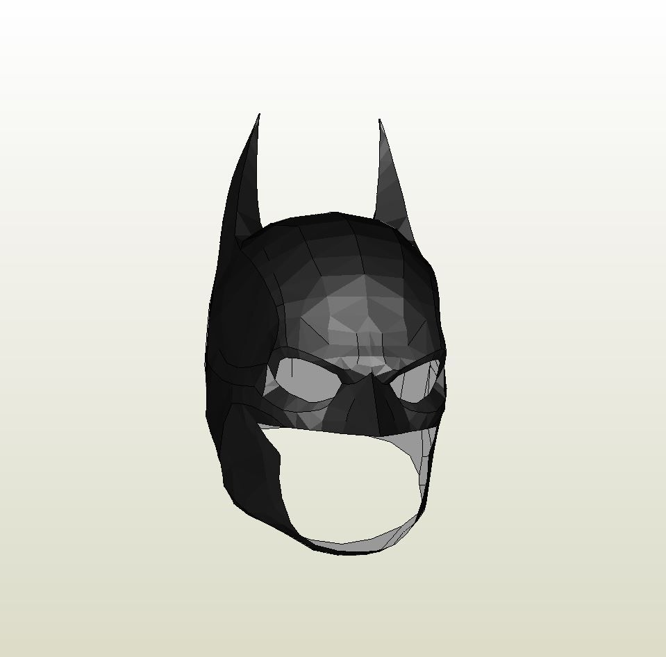 Papercraft .pdo File Template For Batman Arkham Origins