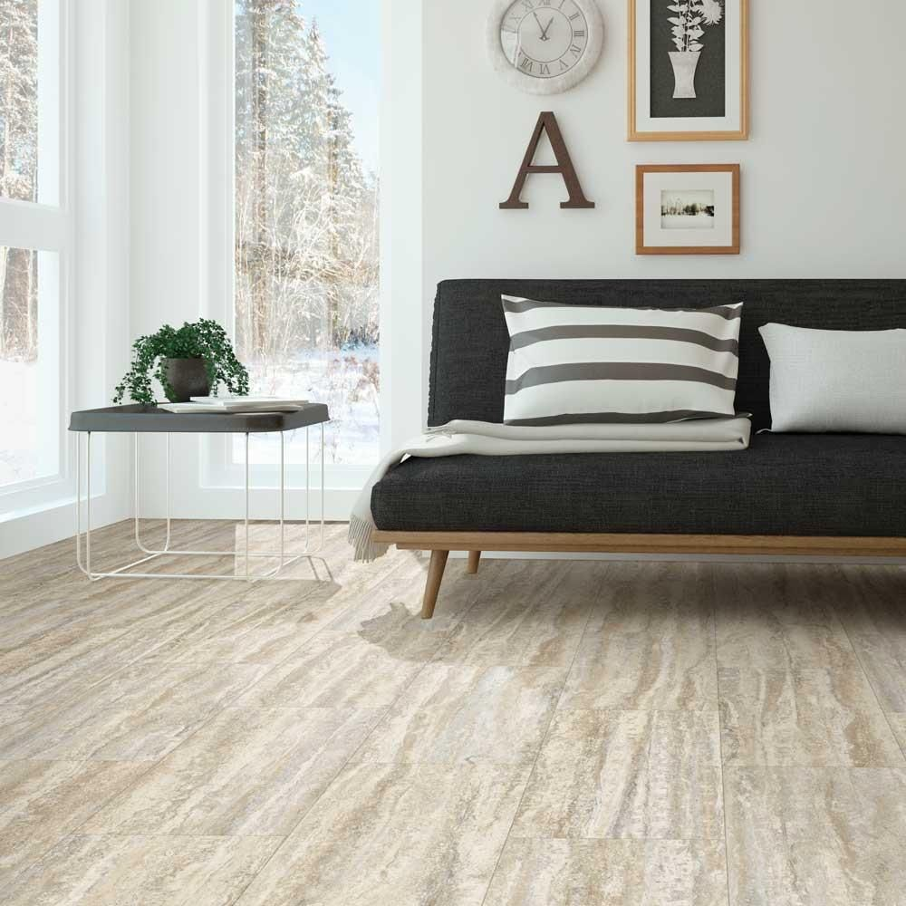Home Decorators Collection Travertine Plank Natural 12 in