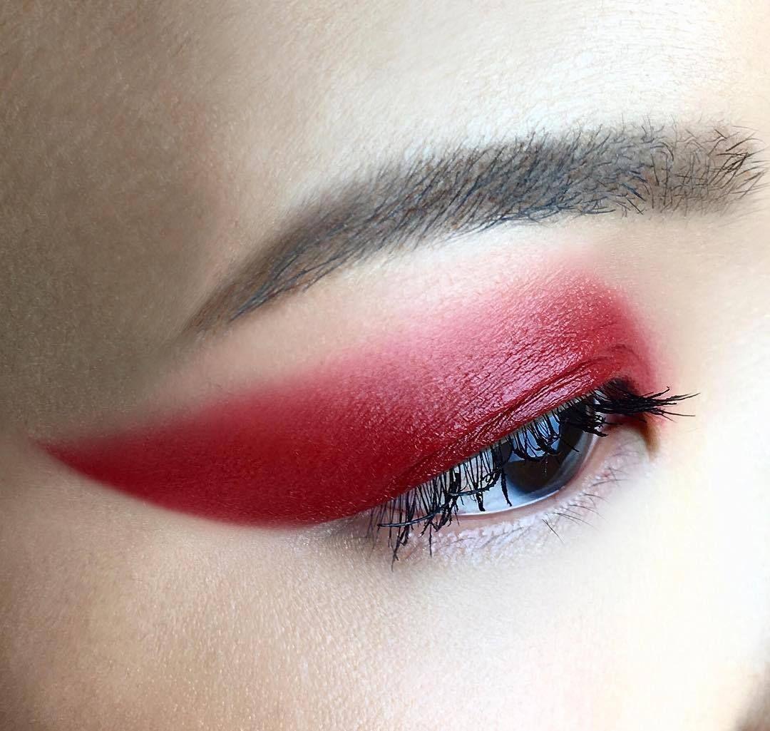 Asian eye/styled makeup code LYJ15 in 2019 Eye makeup