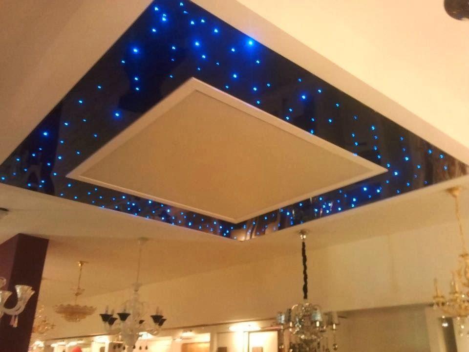 Décoration Spatiale Du Faux Plafond Faux Plafond Platre