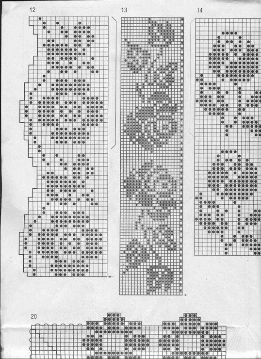 Gallery.ru / Фото #49 - filet - yeditepe | crochet | Pinterest ...
