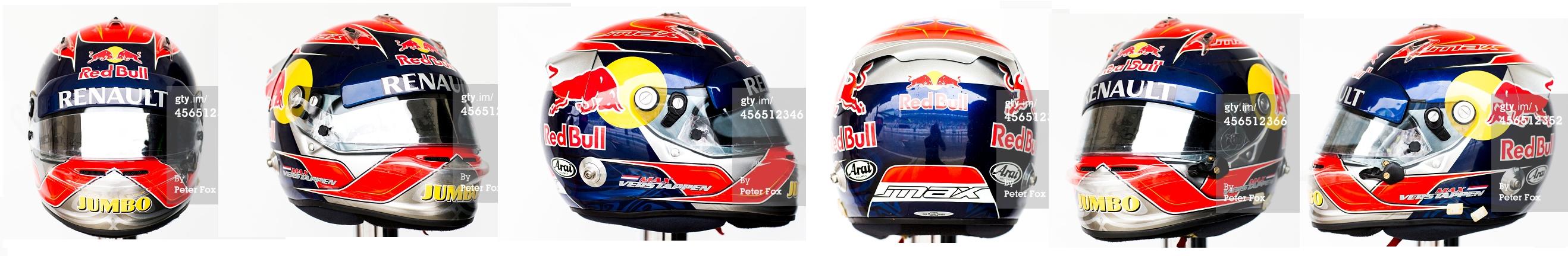 Verstappen 2014 Suzuka Toro Rosso F1 Helmet