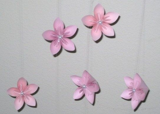 Origami Flower Garland By OrigamiByWingy On Etsy 150