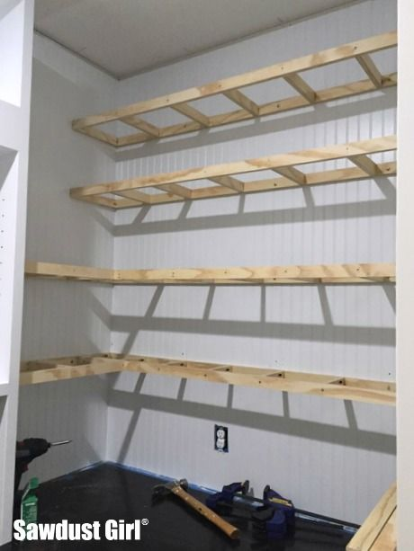 Pantry Floating Shelves With Images Floating Shelves Bedroom
