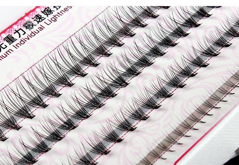 d943941a0f3 New!1 6/8/10/12mm mix in one tray Individual Lash Black Natural Fake False  Eyelash Long Cluster Extension Makeup Beauty Health