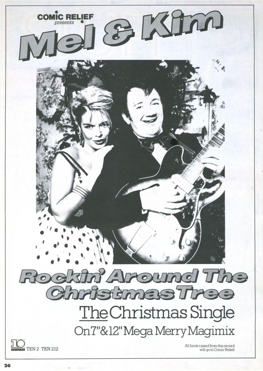 Rockin\' around the Christmas tree\' UK advert, 1987.   Kim Wilde ...