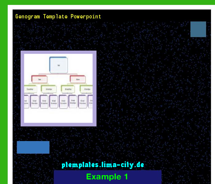 Genogram template powerpoint. Powerpoint Templates 133443. - The ...