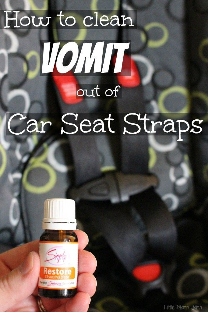 How To Clean Vomit Out Of Car Seat Straps
