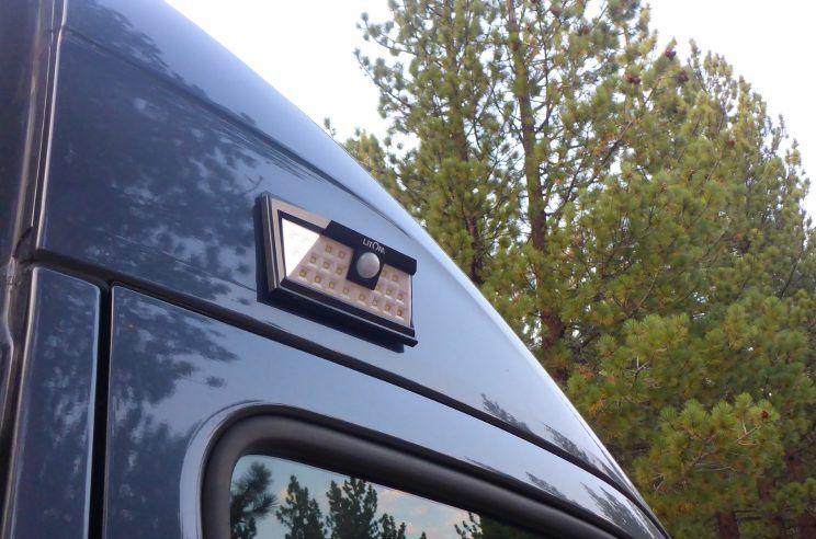 Diy Exterior Van Light Solar Magnetic Motion Detected Sprinter Van Van Diy Exterior
