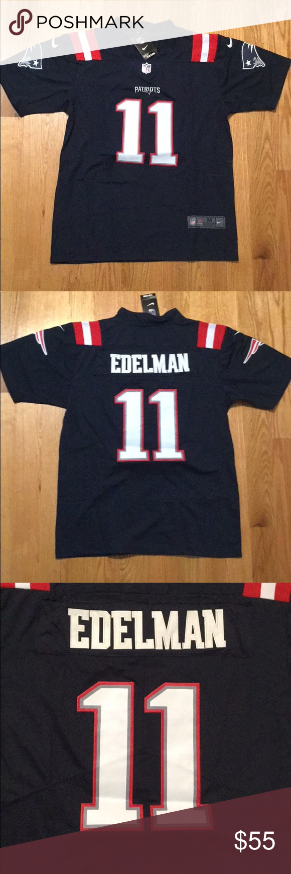 low cost 99540 02286 New England Patriots #11 Julian Edelman Jersey New with tags ...