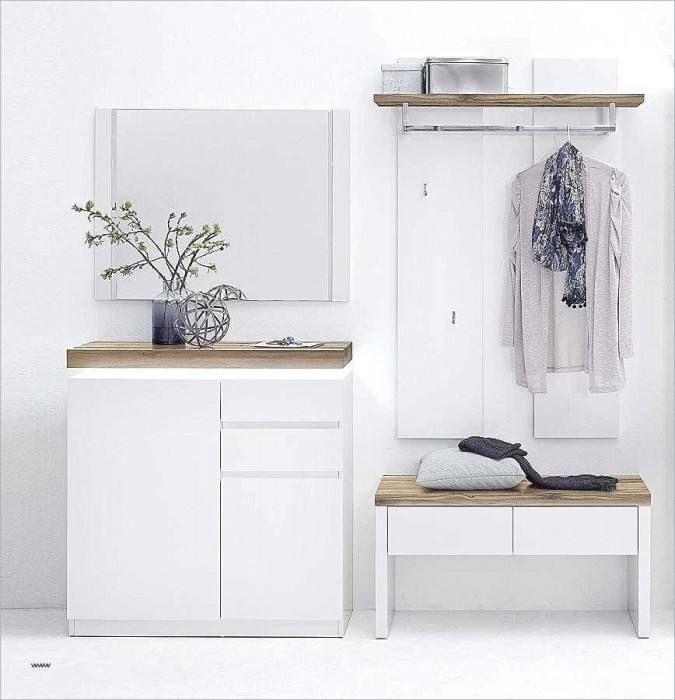 Badezimmermöbel Poco Garderobenbank weiß, Garderobenset