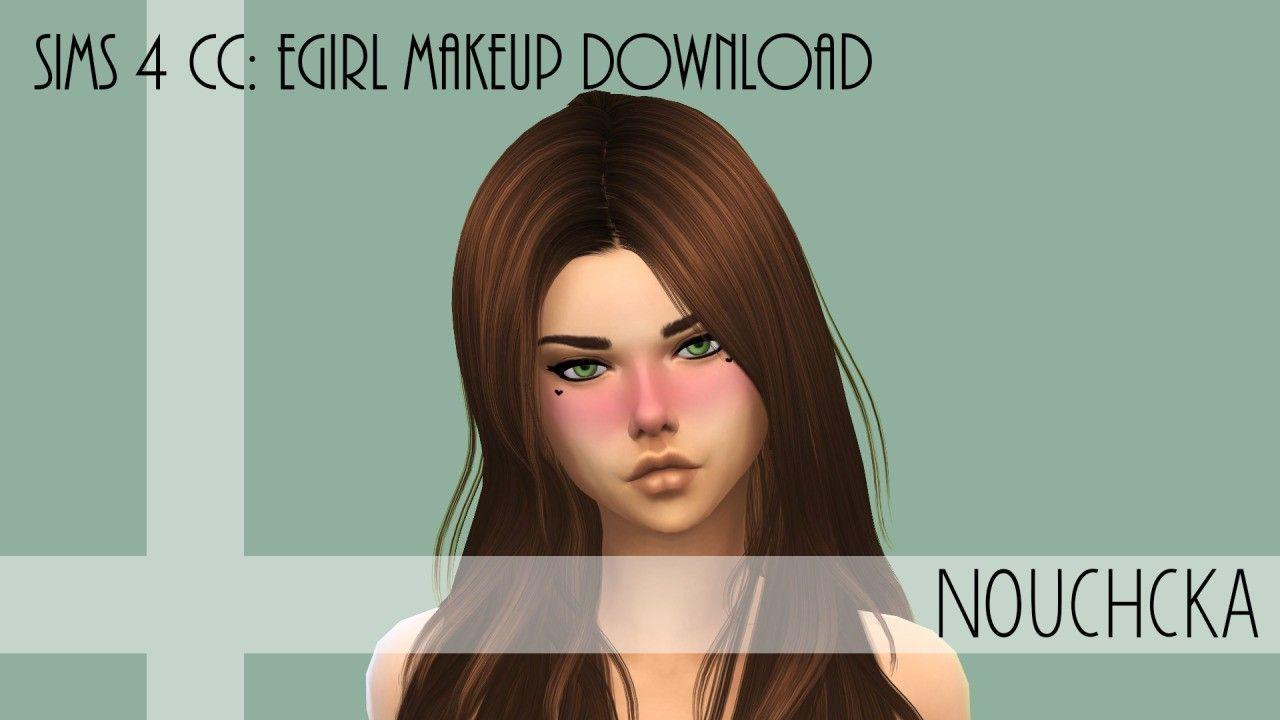 Sims 4 Cc Egirl Makeup Download Makeup Download Sims 4 Cc Sims
