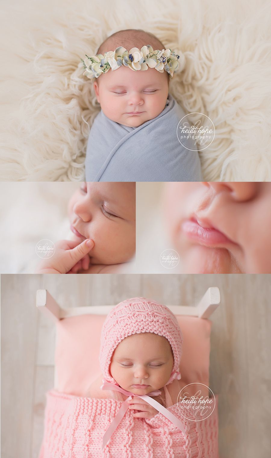1 month old baby portraits by boston baby photographer