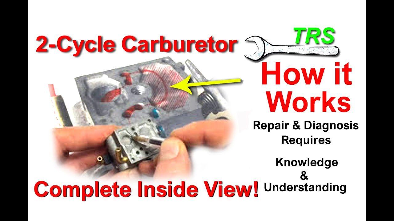 How A Chainsaw Carburetor Works/Fuel holes & Diaphragms