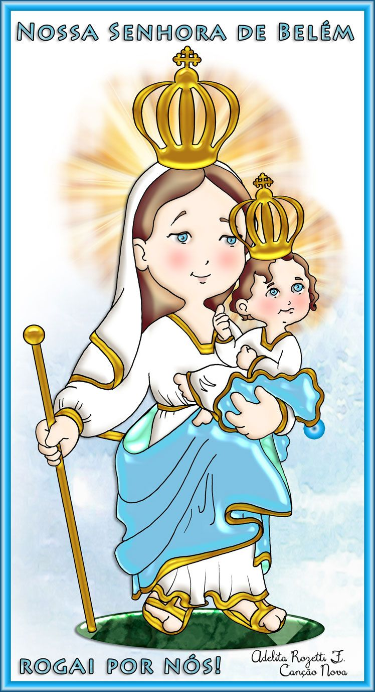 Nsa Sra Belem Tia Adelita Nossa Senhora Senhor Homenagem