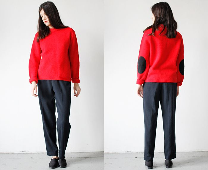 perfect red sweater   Where I Was From