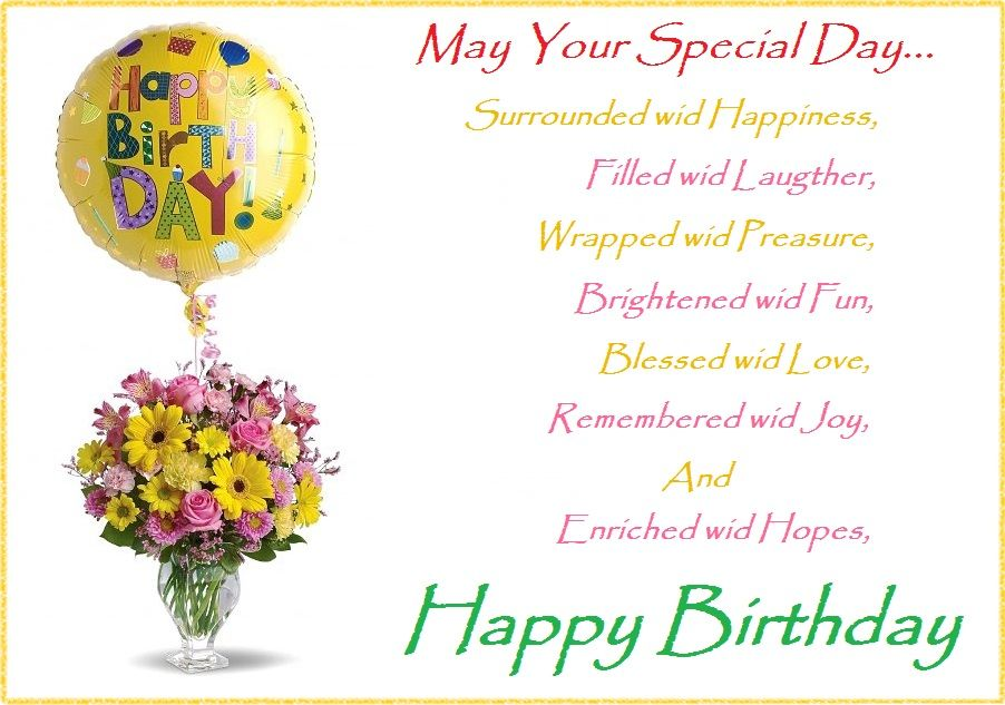 Happy Birthday Quotes And Wishes Photos For Someone Special