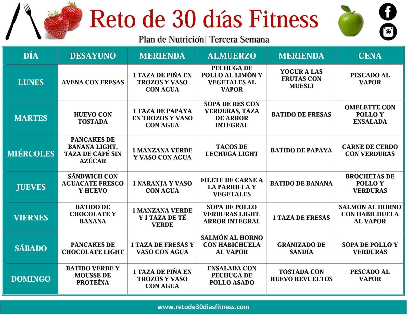 Nutrici n para bajar de peso paola pinterest para bajar de peso nutrici n y dietas - Como bajar 15 kilos en un mes ...