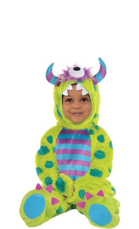 Baby Monster Mash Costume Deluxe Party City Monster Costume Kids Baby Halloween Costumes Monster Costumes