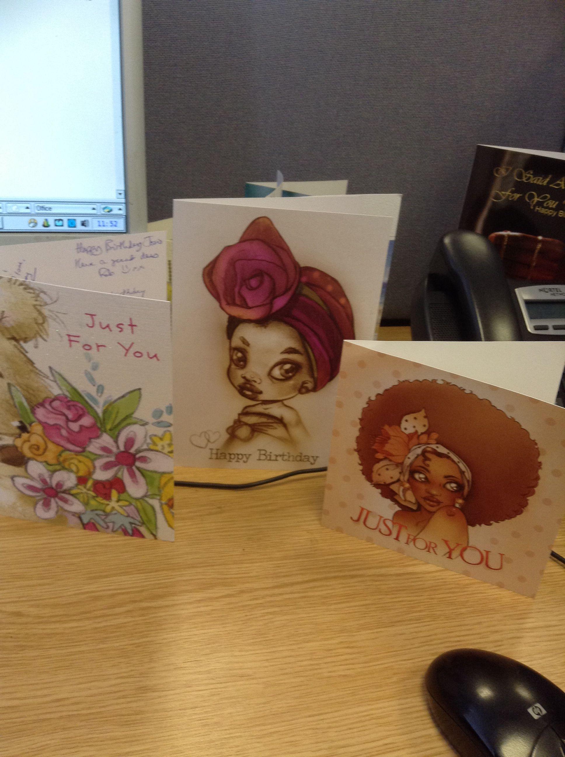 Afrocentric Greeting Cards Manubiah Ma Nubiah Greeting