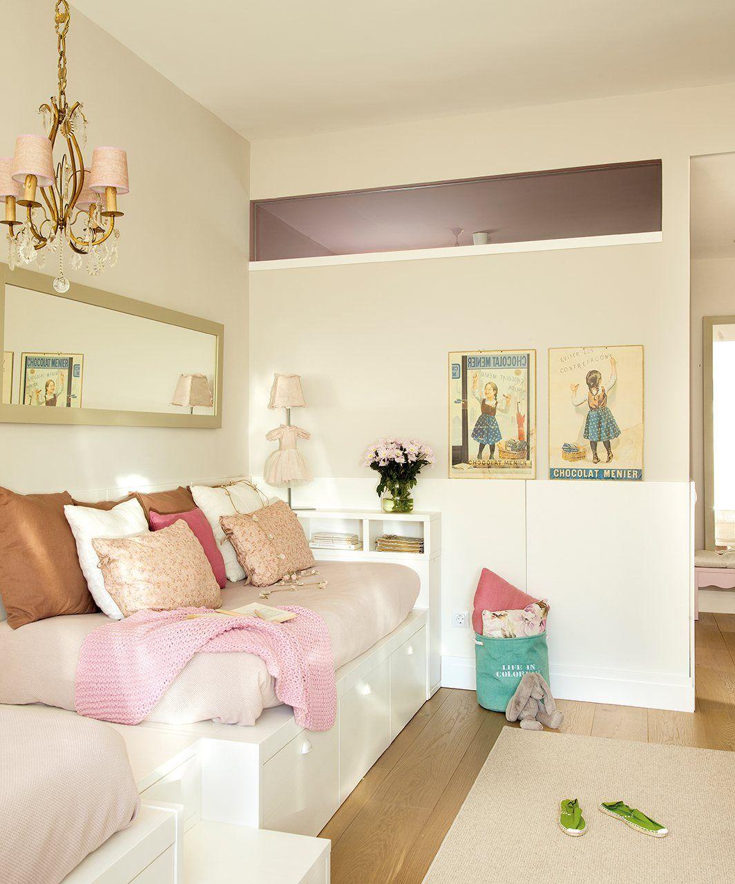 Una Suite De Princesas Con Ba O Estudio Y Vestidor Elmueble  ~ Dormitorios Infantiles Niña Princesas