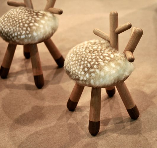 Captivating So Cute For A Kids Room Bambi Chairs  Japanese Design Group, Kamina,  Created This Incredibly Cute Series Of Chairs For Kids, Inspired By The  Cartoon ... Great Ideas