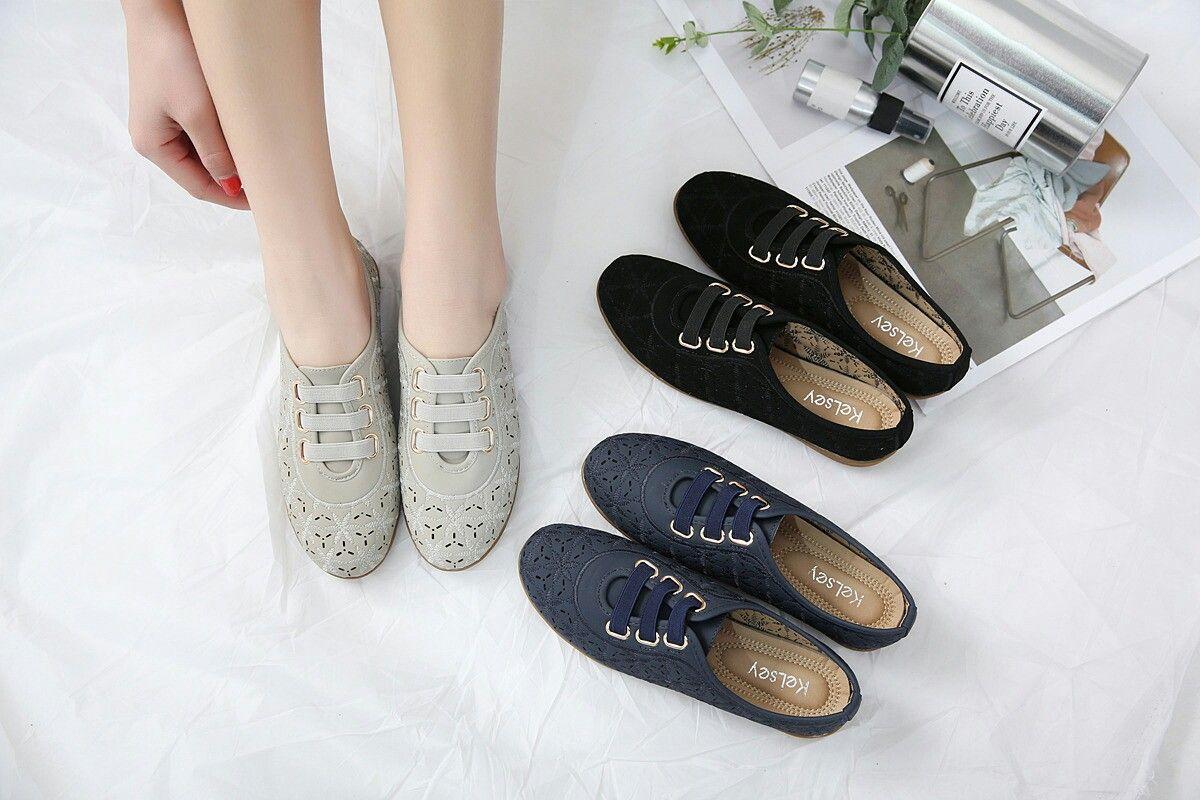Sepatu Merek Kelsey Ms657 1619 67 Original Bahan Kulit Di