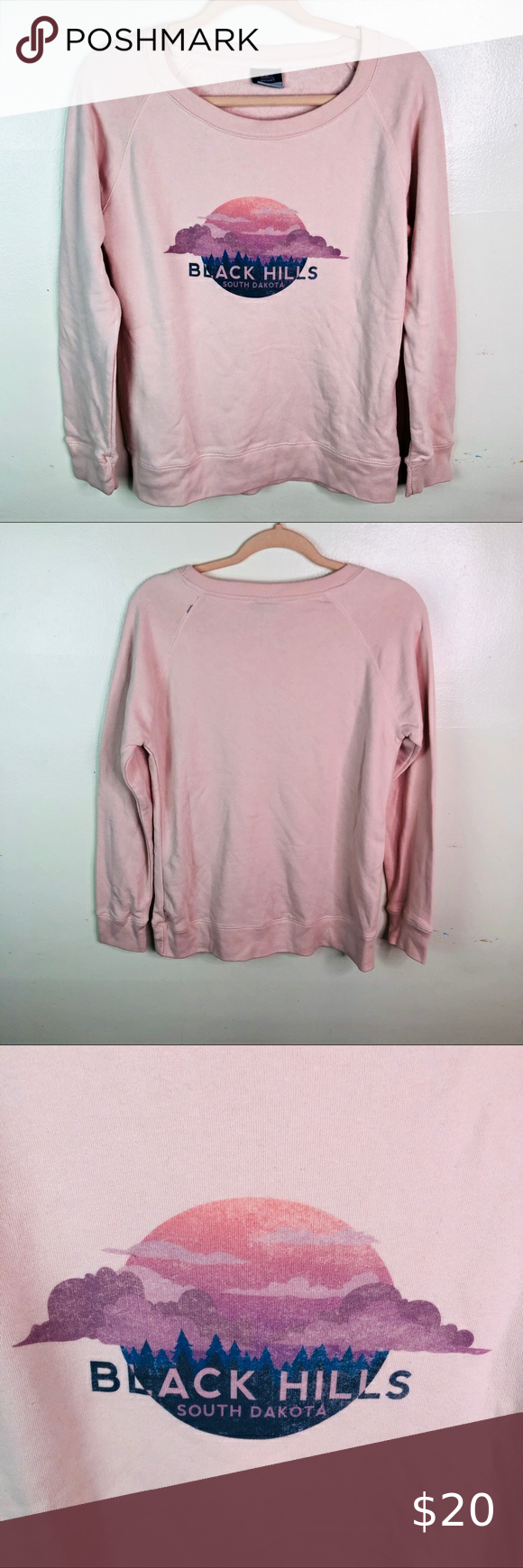 Mv Sport Pink Graphic Sweatshirt South Dakota M Mv Sport Pink Graphic Sweatshirt South Dakota Size Medium Supe Sweatshirts Sweatshirt Tops Graphic Sweatshirt [ 1740 x 580 Pixel ]