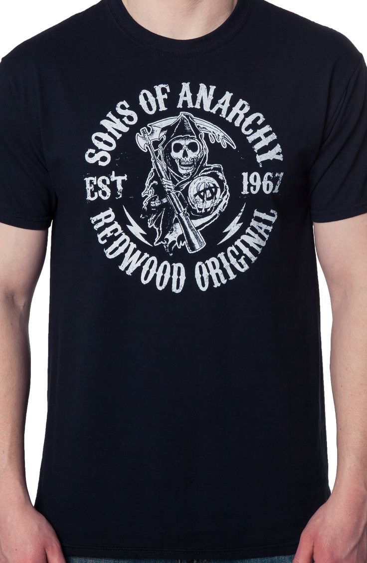 sons of anarchy t shirt new mens t shirts from 80stees. Black Bedroom Furniture Sets. Home Design Ideas