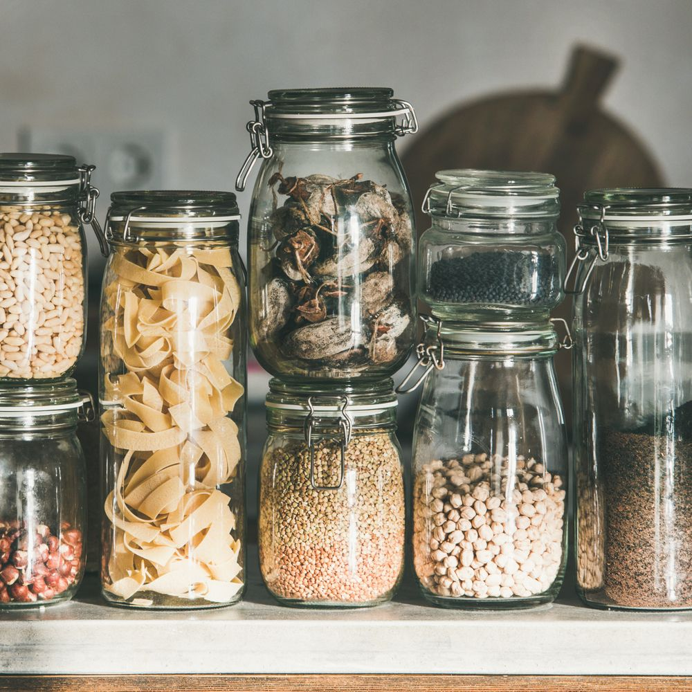 Prepping Your Pantry How We Store One Month Of Food
