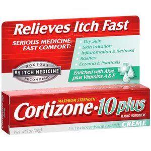 Cortizone 10 Plus Ultra Moisturizing Anti Itch Creme 1oz Beauty