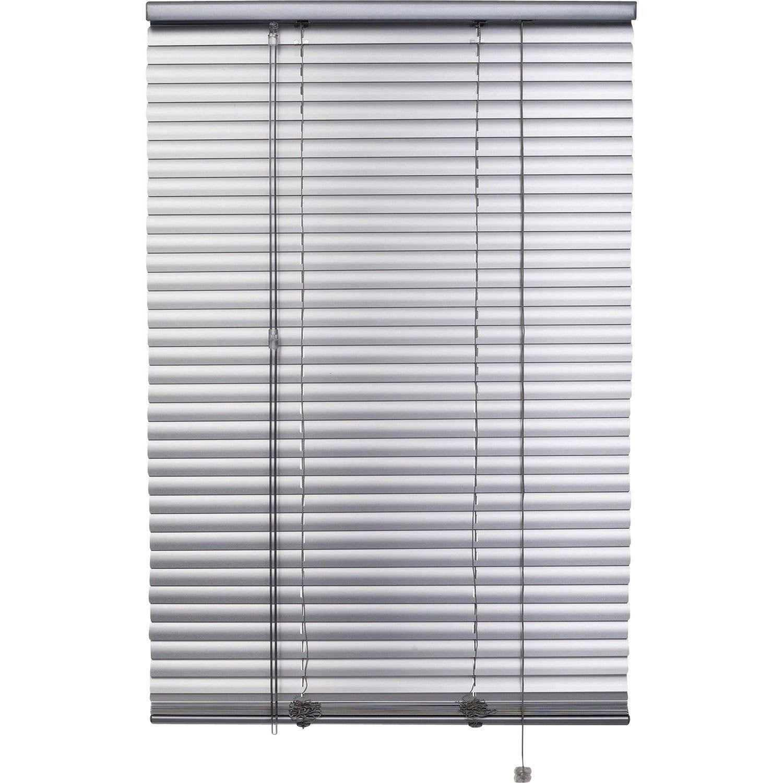Store Venitien Aluminium Aluminium Satine L 70 X H 250 Cm Store Venitien Aluminium Store Venitien Et Store Lamelle