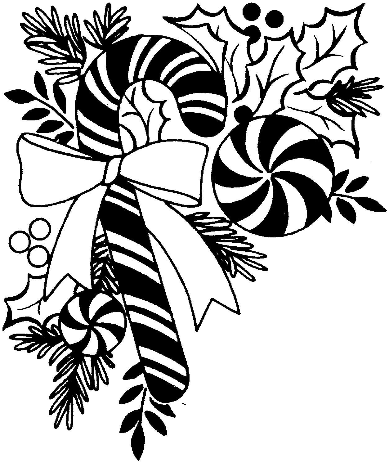 Christmas Clip Art Black And White Free Trick In 2020 Christmas Wallpaper Free Christmas Images Free Christmas Border