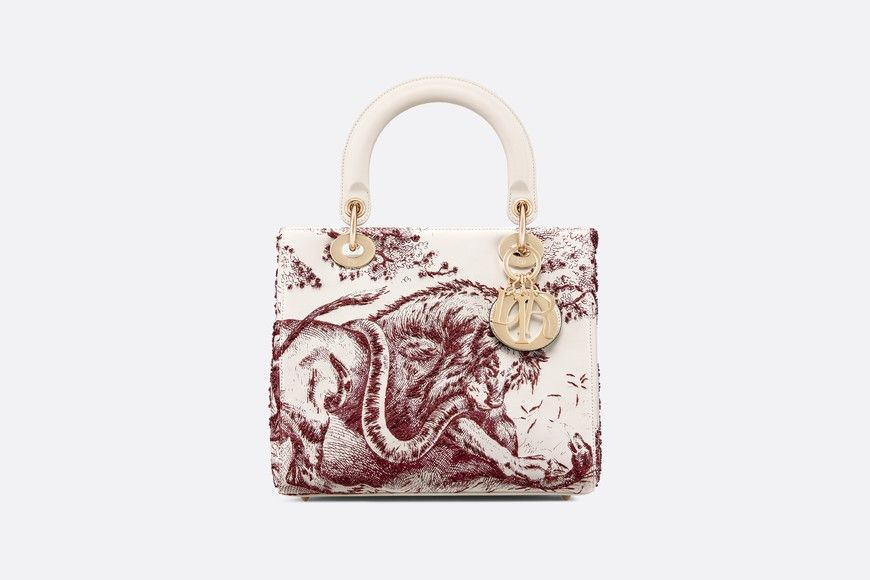 75c70695aa4 Lady Dior Toile de Jouy bag in 2019 | Accessories | Lady dior, Dior ...